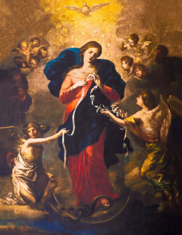 O Lady Immaculate Untier of Knots, Pray for us!